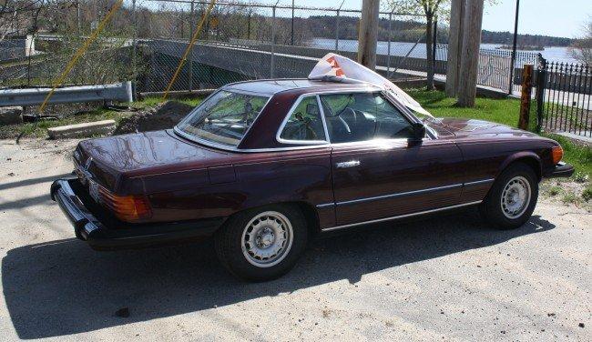 100m 1977 mercedes e450 roadster 135 000 miles lot 100m for Mercedes benz e450