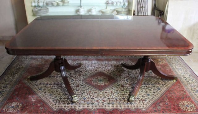 Claw foot dining room table lot 108 for 108 inch dining room table