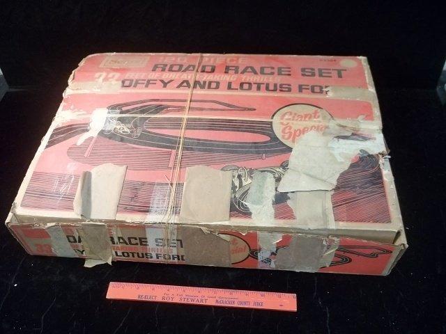 Sears slot car sets
