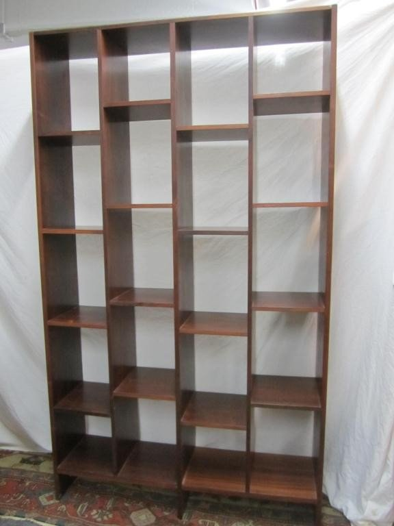 80: Danish Modern Style Open Bookcase / Room Divider : Lot 80
