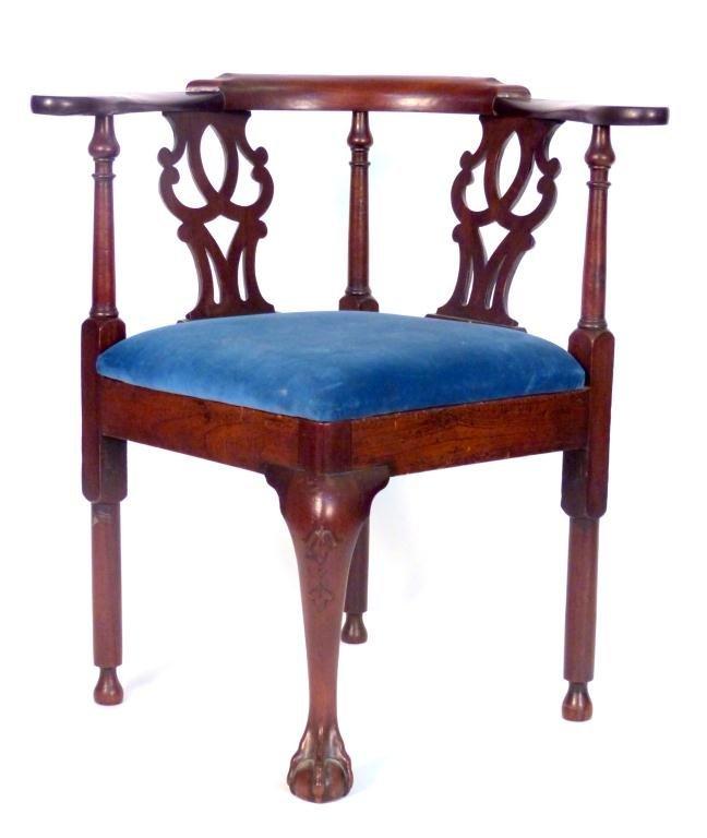 70 antique english corner chair lot 70