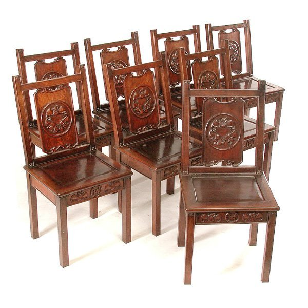 371 chinese ming style rosewood dining room set lot 371
