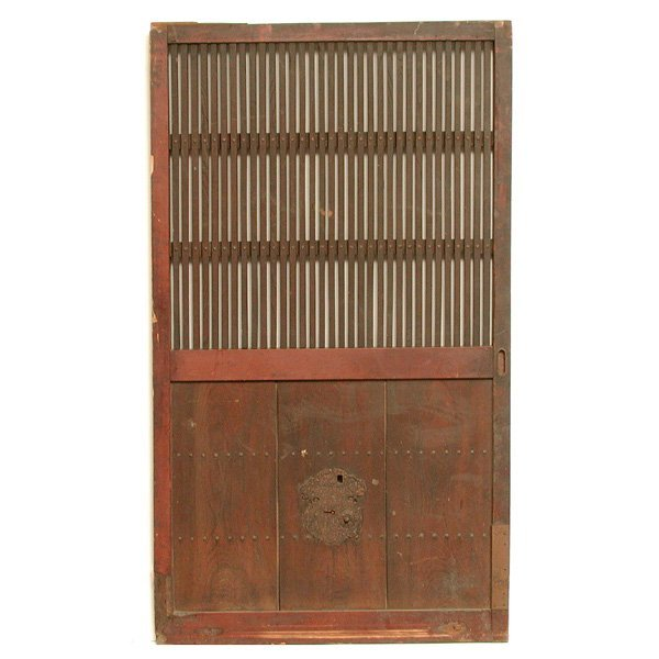 463 early japanese entry door lot 463
