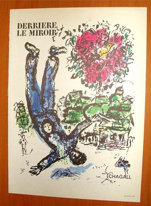 marc chagall derriere le miroir cover no 147 lot 2016