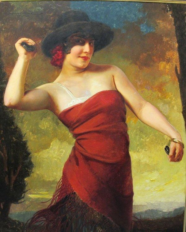378: Hans HASSENTEUFEL (1887-1943) painting : Lot 378
