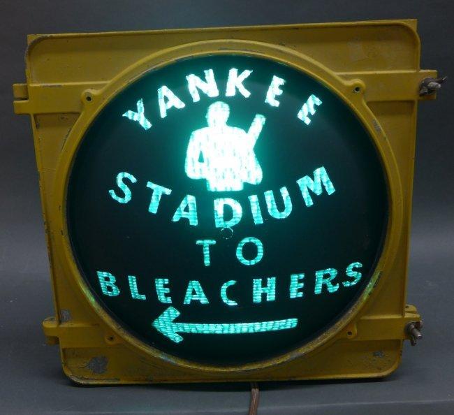 Stadium Lights Capacity: New York Yankee Stadium Bleacher Light : Lot 245