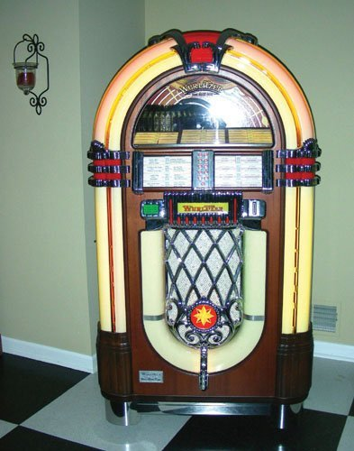 100 reproduction wurlitzer model 1015 juke box lot 100. Black Bedroom Furniture Sets. Home Design Ideas