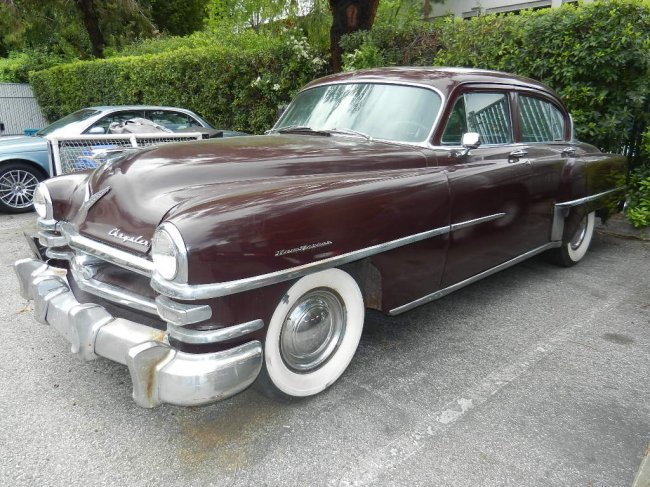 82 1953 chrysler new yorker 4 door lot 82 for 1957 chrysler saratoga 4 door