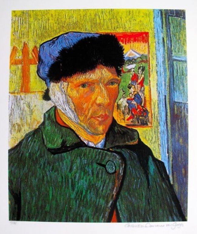 Vincent Van Gogh Self Portrait With Bandaged Ear Estate
