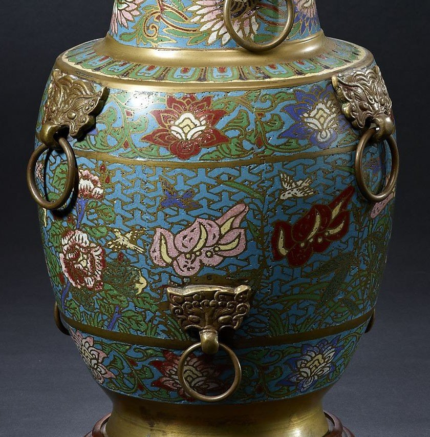 Cloisonné Prices Depend On Age and Design