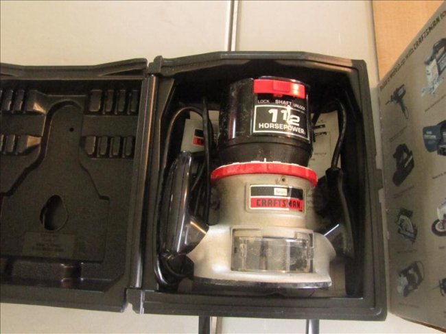 15 1 5 hp craftsman router lot 15 for 3 1 4 hp router motor only