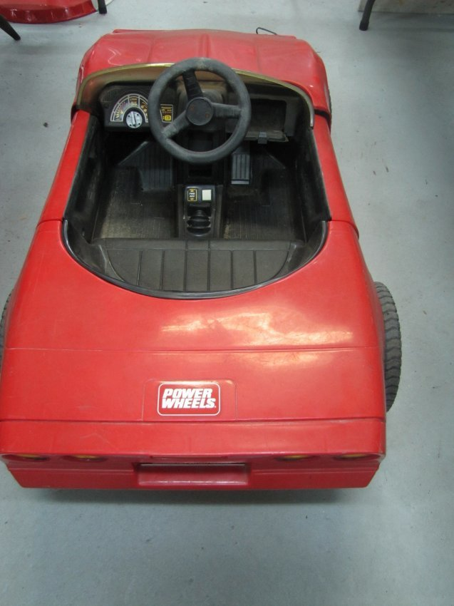 365 power wheel red corvette ride on lot 365. Cars Review. Best American Auto & Cars Review