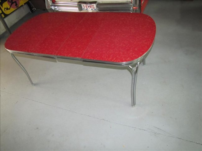Dining table retro formica dining table - Retro formica table ...