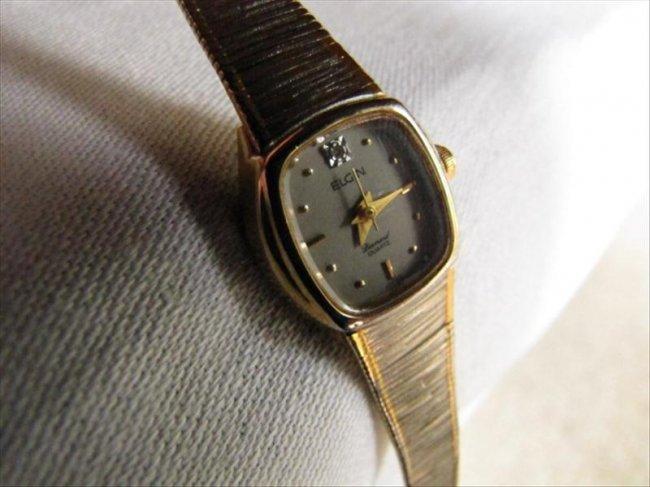 Elgin Diamond Quartz Watch