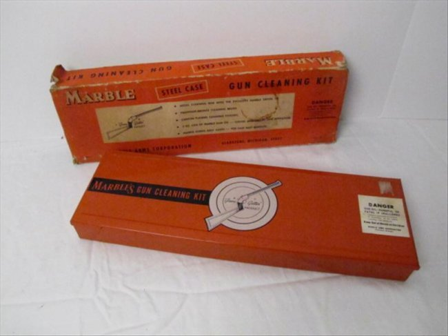 21 Vintage Marble Arms Gun Cleaning Kit Lot 21