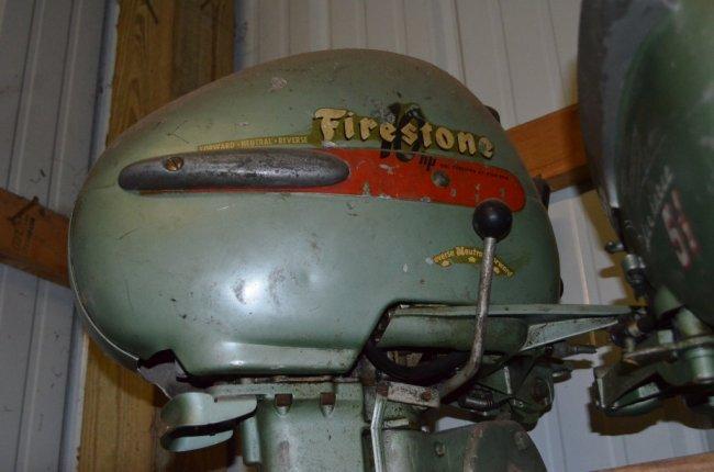 Firestone 10 hp outboard boat motor lot 255 for 10 hp boat motors