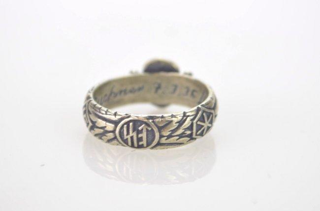 900 silver german ss wedding ring lot 348f