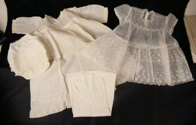 Victorian Baby Clothes Dresses Lace Lot
