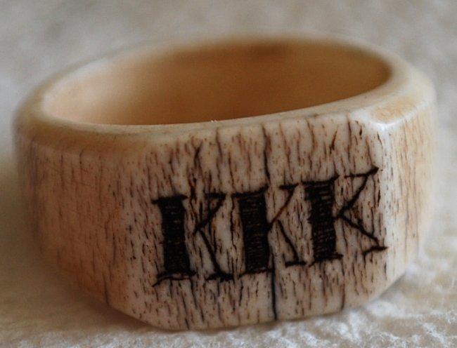 45 1800 s ku klux klan member authentic ivory ring lot 45