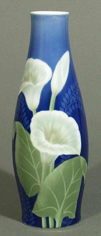 jugendstil vase fraureuth lot 233. Black Bedroom Furniture Sets. Home Design Ideas