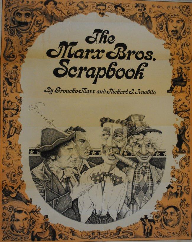 Marx Groucho 1890 1977 American Film Comedian One O