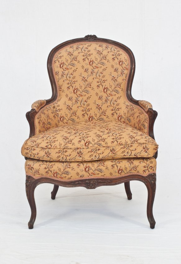 293 Antique French Bergere Chair Lot 293