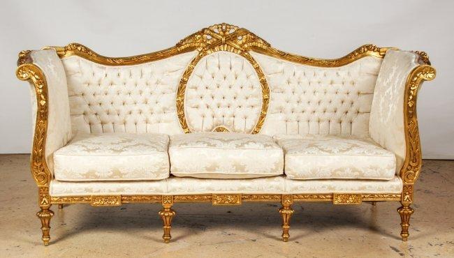 napoleon iii canape lot 439. Black Bedroom Furniture Sets. Home Design Ideas