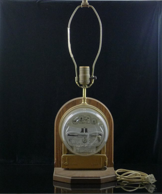 Watt Hour Meter : Ge meter single phase watt hour lamp lot