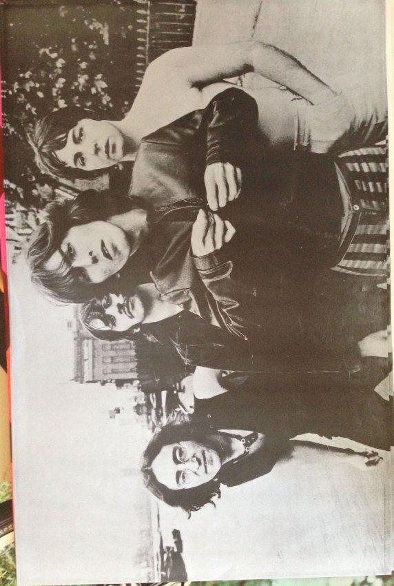 Rare Beatles Poster 1969 Lot 1225