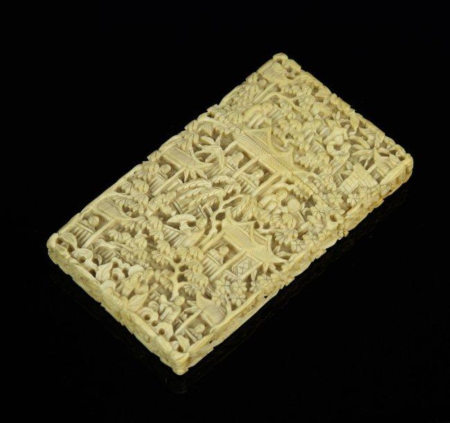 asian card box