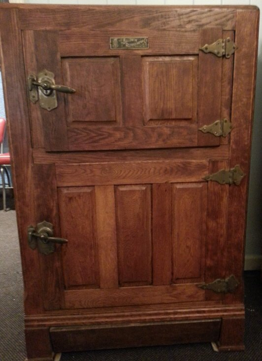 Wooden ice chest lot