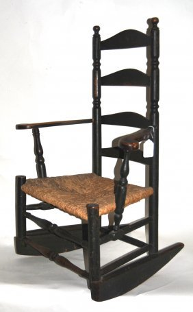 ... back 18th century rocking chair ladder back 18th century rocking chair