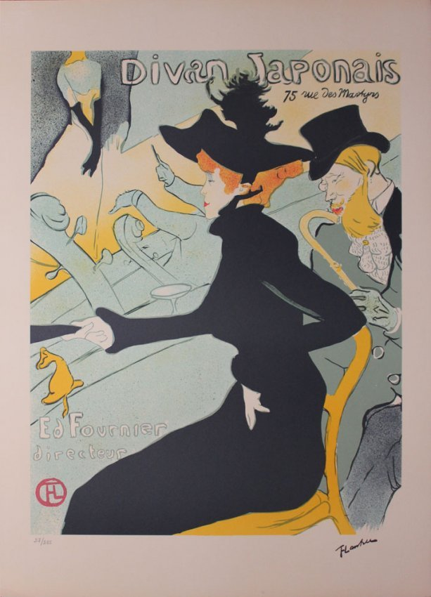 Henri de toulouse lautrec after divan japonais lot 74 for Divan japonais toulouse lautrec