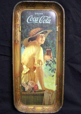 83 Rare 1916 Coca Cola Serving Tray Original Lot 83