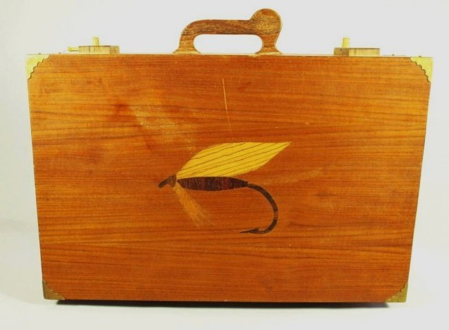 184 ted patlen fly tying custom made box lot 184