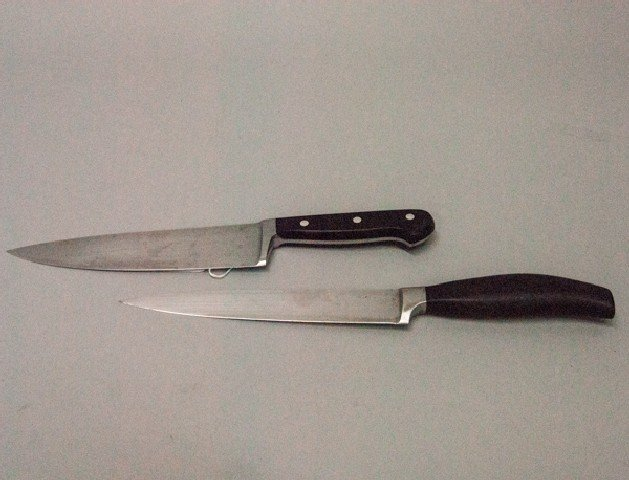 pair of german chef knives lot 407. Black Bedroom Furniture Sets. Home Design Ideas
