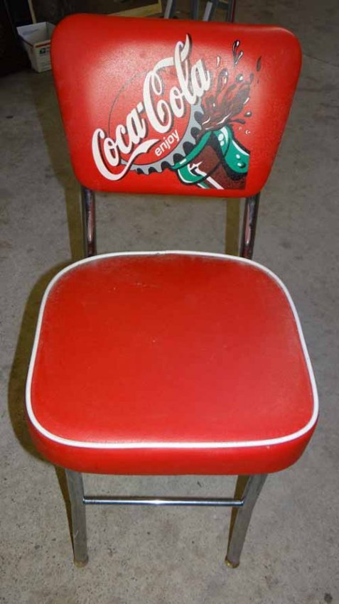 Coca Cola Table Chair Set Lot 311