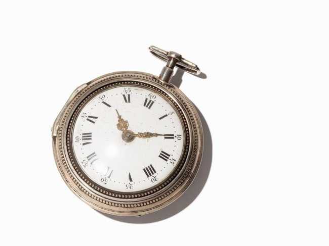 Joseph Huber Spindle Watch, Regensburg, Around 1770 : Lot 105