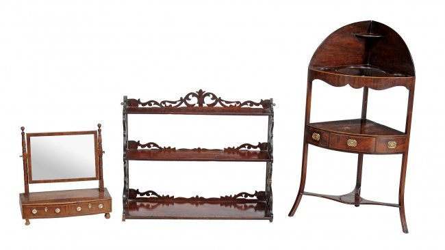 An Assortment Of Dressing Room Furniture Comprising A