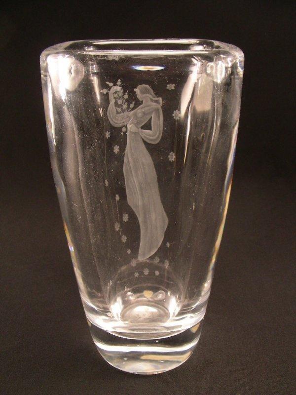 Vintage Orrefors Vase 3