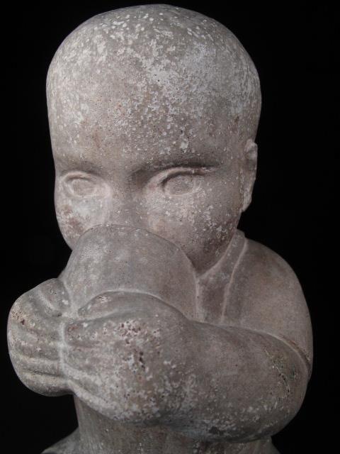 94 William Zorach Sculpture Of A Child Lot 94