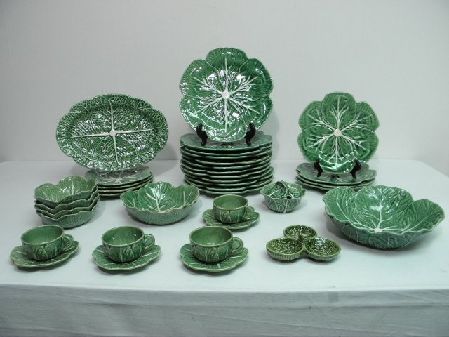 67 bordallo pinheiro cabbage partial dinnerware serv - Bordallo pinheiro portugal ...
