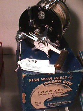 798 ocean city long key no 115 fishing reel lot 798 for Key city fish