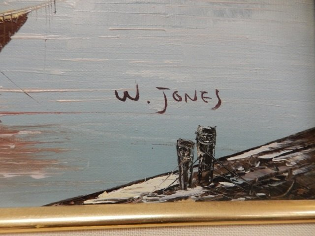 w jones boat paintings by florence - photo#11