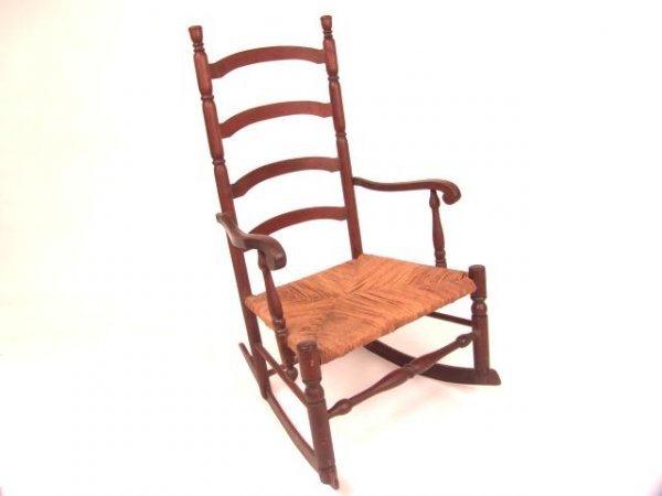 28 ladder back rocking chair 384 antique ladder back rockin