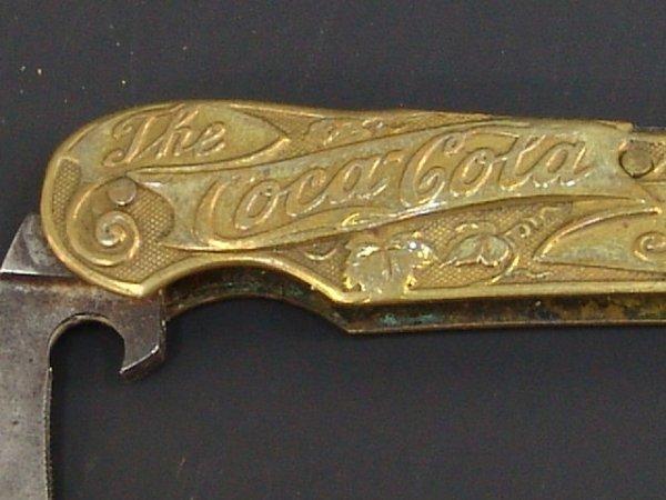 Old Coca-Cola Pocket Knives
