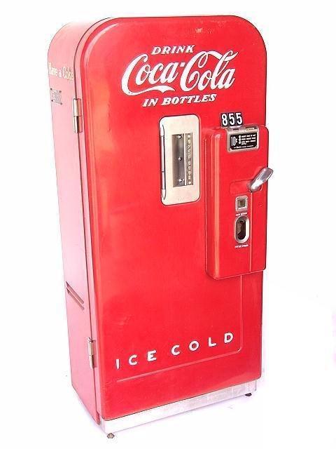 vendo 27 coke machine