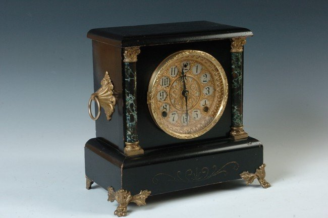 Antique Mantel Clocks >> A SESSIONS 'DUKE' MANTEL CLOCK – Antique Clocks Price