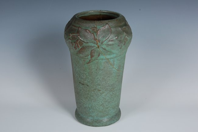 Early Van Briggle Art Pottery Vase As Found Lot 182