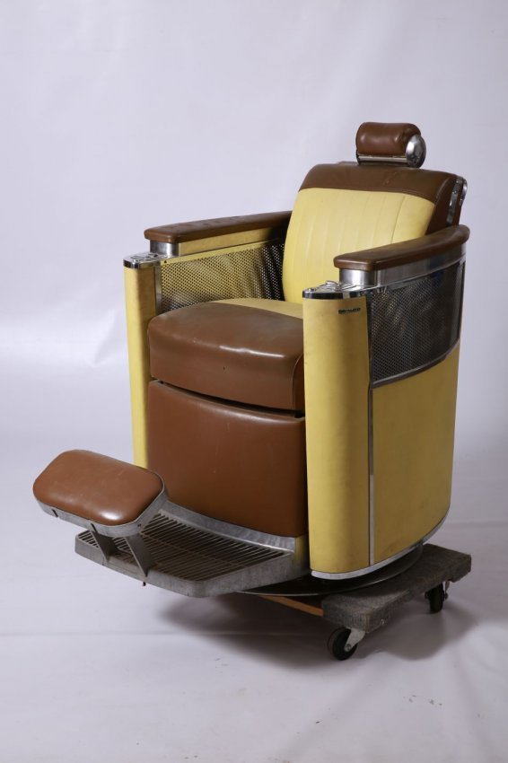 Koken premier art deco barber chair lot 2 - Deco klassiek koken ...